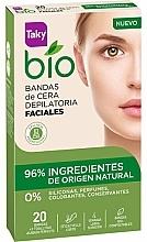 Fragrances, Perfumes, Cosmetics Face Depilation Wax Strips - Taky Bio Natural 0% Face Wax Strips