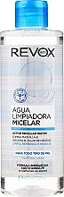 Fragrances, Perfumes, Cosmetics Micellar Water - Revox Aqua Limpiadora Micellar