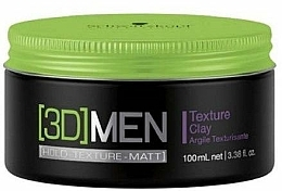 Fragrances, Perfumes, Cosmetics Texturizing Hair Clay - Schwarzkopf Professional 3D Mension Texture glay