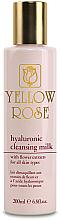Fragrances, Perfumes, Cosmetics Hyaluronic Acid Cleansing Milk - Yellow Rose Hyaluronic Cleansing Milk