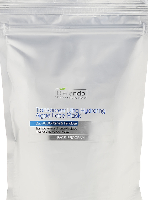 Ultra-Transparent Algae Mask - Bielenda Professional Hydrating Algae Face Mask (refill)