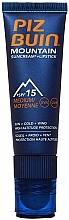 Fragrances, Perfumes, Cosmetics Protective Lip and Face Cream - Piz Buin Mountain Sun Cream Plus Lipstick SPF15