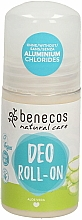 Fragrances, Perfumes, Cosmetics Roll-On Deodorant 'Aloe Vera' - Benecos Natural Care Aloe Vera Deo Roll-On