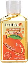 "Fragrances, Perfumes, Cosmetics Antibacterial Hand Gel ""Mango"" - Bubble T Cleansing Hand Gel"