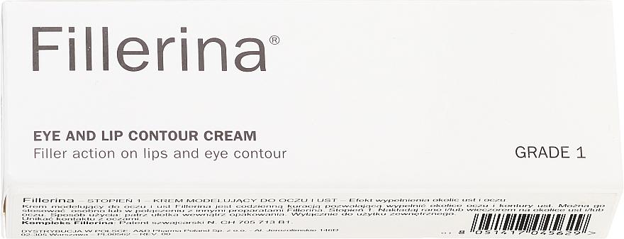 Eye & Lip Contour Cream, level 1 - Fillerina Eye And Lip Contour Cream Grade 1