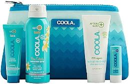 Fragrances, Perfumes, Cosmetics Set - Coola Classic Travel Kit(spray/60ml+f/cr/25ml+balm/4,2g+lotion/60ml)