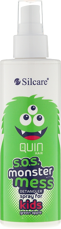 Detangling Hair Spray - Silcare Quin S.O.S. Monster Mess Kids Hair Spray