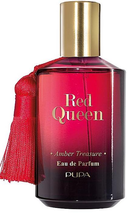 Pupa Red Queen Amber Treasure - Eau de Parfum