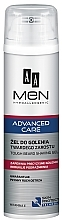 Fragrances, Perfumes, Cosmetics Shaving Gel - AA Men Advanced Care Tough Beard Shaving Gel