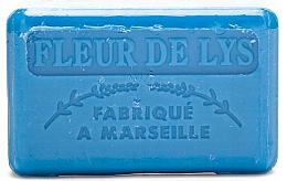 """Fragrances, Perfumes, Cosmetics Marseilles Soap """"Lily"""" - Foufour Savonnette Marseillaise Fleur de Lys"""