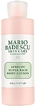 Fragrances, Perfumes, Cosmetics Body Lotion - Mario Badescu Apricot Super Rich Body Lotion
