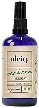 Fragrances, Perfumes, Cosmetics Face, Body and Hair Verbena Hydrolat - Oleiq Verbena Hydrolat