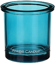 Fragrances, Perfumes, Cosmetics Tealight Votive Holder - Yankee Candle POP Blue Tealight Votive Holder