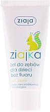 Fragrances, Perfumes, Cosmetics Kids Toothpaste-Gel Fluoride-Free - Ziaja Toothpaste Gel For Kids
