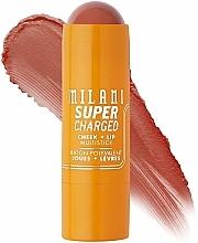 Fragrances, Perfumes, Cosmetics Cheek+Lip Multistick - Milani Supercharged Cheek + Lip Multistick