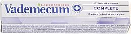 Fragrances, Perfumes, Cosmetics Vitaminized Toothpaste - Vademecum ProVitamin Complex Complete Toothpaste