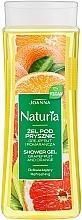 "Fragrances, Perfumes, Cosmetics Shower Gel ""Grapefruit and Orange"" - Joanna Naturia Grapefruit and Orange Shower Gel"