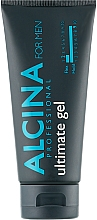 Fragrances, Perfumes, Cosmetics Extra Strong Hold Hair Gel - Alcina For Men Hair Styling Ultimate Gel
