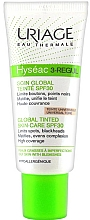 Fragrances, Perfumes, Cosmetics Face Cream - Uriage Hyséac 3-Regul Global Tinted Skin-Care SPF 30