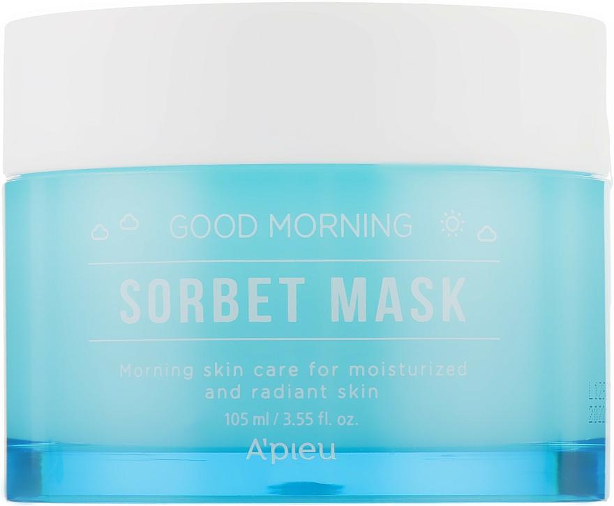 Morning Facial Sorbet Mask - A'pieu Good Morning Sorbet Mask — photo N1