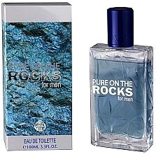 Fragrances, Perfumes, Cosmetics Real Time Pure On The Rocks For Men - Eau de Toilette