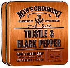 Fragrances, Perfumes, Cosmetics Scottish Fine Soaps Men's Grooming Thistle & Black Pepper - Soap