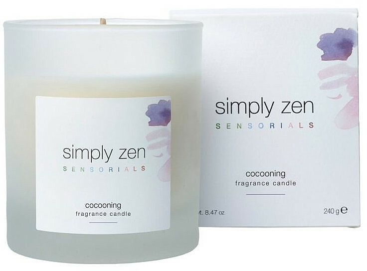 Scented Candle - Z. One Concept Simply Zen Sensorials Cocooning Fragrance Candle — photo N1