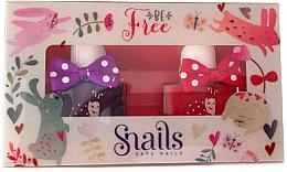 Fragrances, Perfumes, Cosmetics Kids Nail Polish Set 2x10, 5 ml - Snails Mini Bebe Be Free
