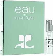 Fragrances, Perfumes, Cosmetics Courreges Eau de Courreges - Eau de Toilette (sample)