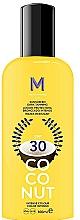 Fragrances, Perfumes, Cosmetics Dark Tanning Sunscreen Cream - Mediterraneo Sun Coconut Sunscreen Dark Tanning SPF30