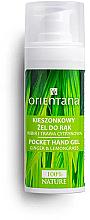Fragrances, Perfumes, Cosmetics Antibacterial Hand Gel with Ginger and Lemongrass - Orientana Pocket Hand Gel
