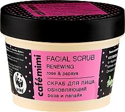 Fragrances, Perfumes, Cosmetics Renewing Face Scrub - Cafe Mimi Facial Scrub Renewing