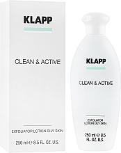 Fragrances, Perfumes, Cosmetics Oily Skin Exfoliator - Klapp Clean & Active Exfoliator Oily Skin