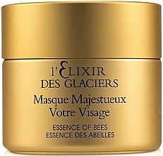 """Fragrances, Perfumes, Cosmetics Glaciers Elixir Precious Mask """"Your Face"""" - Valmont L'elixir Des Glaciers Masque Majestueux Votre Visage"""