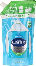 Fragrances, Perfumes, Cosmetics Antibacterial Liquid Soap - Carex Pure Blue Hand Wash (Refill)