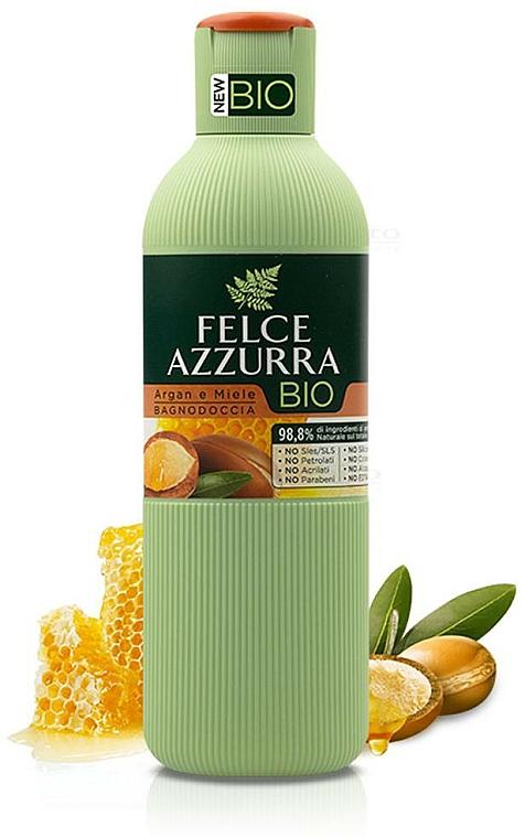 "Shower Gel ""Argan Oil & Honey"" - Felce Azzurra BIO Argan & Honey Shower Gel"