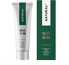 Fragrances, Perfumes, Cosmetics Antibacterial Toothpaste - Woom Natural+ Choice for Healthy Gums and Teeth