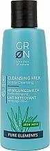 Fragrances, Perfumes, Cosmetics Cleansing Milk - GRN Pure Elements Aloe Vera Cleansing Milk