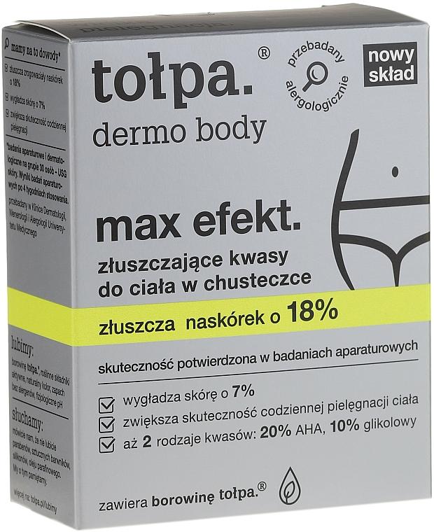 Exfoliating Body Wipes with Acids - Tołpa Dermo Body