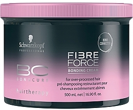 Fragrances, Perfumes, Cosmetics Repair Cream - Schwarzkopf Professional BC Fibre Force Bonding Cream