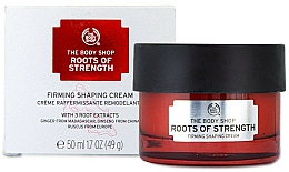 Fragrances, Perfumes, Cosmetics Firming Day Cream - The Body Shop Roots Of Strength Firming Shaping Cream