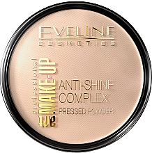 Fragrances, Perfumes, Cosmetics Compact Powder - Eveline Cosmetics Anti-Shine Complex