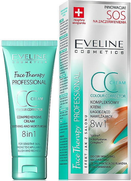 Soothing Firming CC Cream - Eveline Cosmetics Therapy