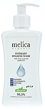 Fragrances, Perfumes, Cosmetics Intimate Wash with Lactic Acid and Panthenol - Melica Organic Intimate Hygiene Wash