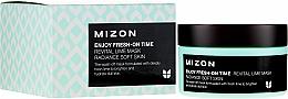Fragrances, Perfumes, Cosmetics Moisturizing & Revitalizing Instant Mask with Lime Extract - Mizon Enjoy Fresh On-Time Mask Revital Lime Mask