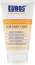 Fragrances, Perfumes, Cosmetics Shampoo - Eubos Med Basic Skin Care Mild Shampoo