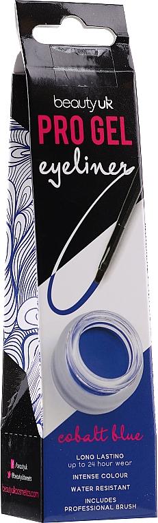 Waterproof Eyeliner - Beauty UK Pro Gel Eyeliner (03 -Cobalt Blue)