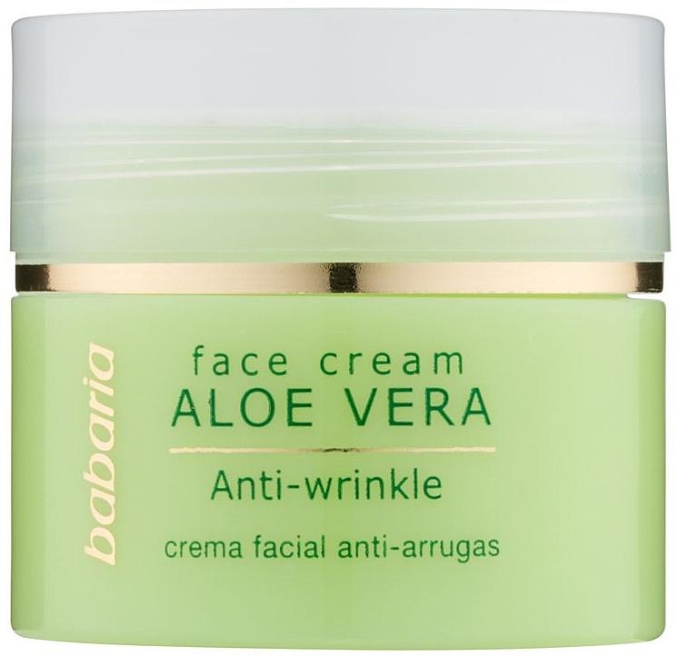Aoe Vera Face Cream - Babaria Aloe Facial Wrinkle Cream