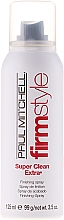 Fragrances, Perfumes, Cosmetics Strong Hold Hair Spray - Paul Mitchell Firm Style Super Clean Extra
