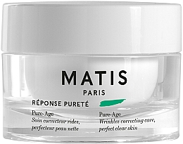 Fragrances, Perfumes, Cosmetics Anti-Wrinkle Cream - Matis Reponse Purete Pure-Age